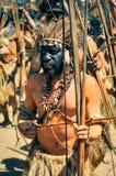 Homme en Papouasie Photographie stock libre de droits