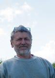 Homme en verres bleus images libres de droits
