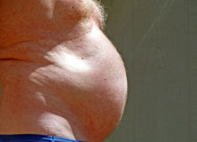 Homme enceinte Image libre de droits