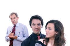 Homme et couples attrayants Images libres de droits