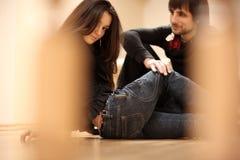 Homme et femme Photo stock
