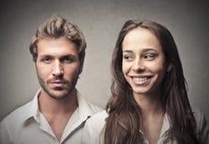 Homme et femme photographie stock