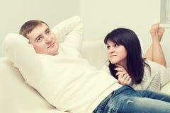 Homme et femme Images stock