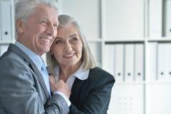 Homme et femme de Seniour Photographie stock