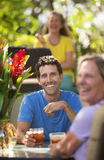 Homme et femme heureux dans Maui Photos libres de droits