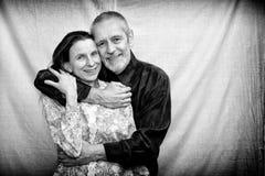 Homme et femme mûrs Image stock
