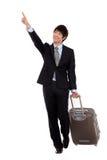 Homme et voyage d'affaires. Photographie stock libre de droits