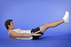 Homme Excercising Photo stock