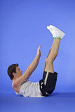 Homme Excercising Photos stock