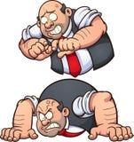 Homme fâché illustration de vecteur