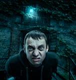Homme fantasmagorique photo stock