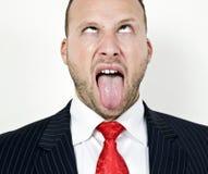 Homme frustrant Image libre de droits