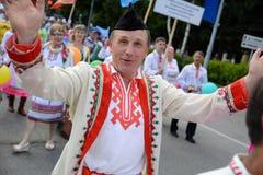 Homme gai au festival images libres de droits