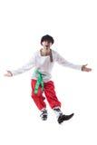 Homme gai posant dans le costume du paysan photos stock