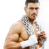 Homme grossier sexy Image libre de droits