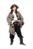 Homme habillé comme pirate photographie stock