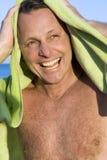 Homme heureux d'années '40 Photo stock