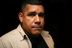 Homme hispanique 1 Images libres de droits