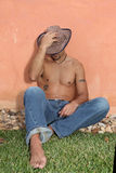 Homme hispanique Photographie stock libre de droits