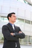 Homme hispanique d'affaires Photographie stock