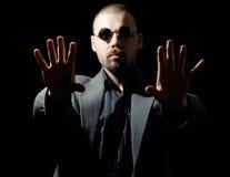 Homme hypnotique Images libres de droits