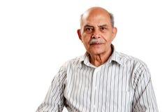Homme indien aîné Images stock