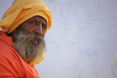Homme indien aîné Image stock