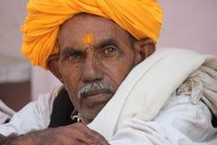 Homme indien aîné Photo libre de droits