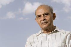 Homme indien aîné Image libre de droits