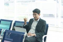 Homme indien asiatique d'affaires Photo libre de droits