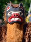 Homme indien indigène dans le costume traditionnel Images libres de droits