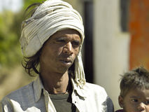Homme indien Udaipur - en Inde Photos stock