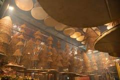 Homme intérieur Mo Temple photo stock