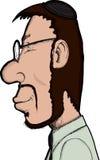 Homme juif de sourire illustration de vecteur