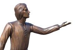 Homme Lviv de statue Photo stock