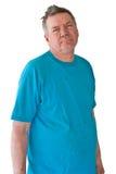Homme mûr éperdu Photographie stock libre de droits