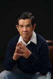 Homme mûr asiatique photos libres de droits