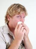 Homme malade. Photographie stock libre de droits