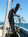 Homme malgache indigène Images stock
