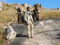 Homme malgache indigène Photo stock