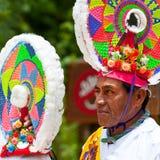 Homme maya traditionnel d'aviateur Photos libres de droits