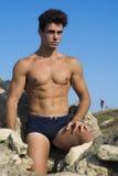 Homme modèle Image stock