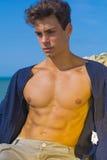 Homme modèle de corps Photos stock