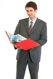Homme moderne d'affaires   Photo stock