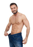 Homme musculaire convenable photos stock