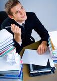 Homme ou étudiant d'affaires image stock
