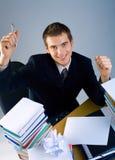 Homme ou étudiant d'affaires images stock