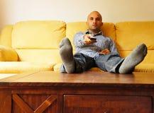Homme paresseux Image stock