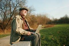 Homme pensif Photographie stock libre de droits
