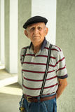 Homme plus âgé Photographie stock libre de droits